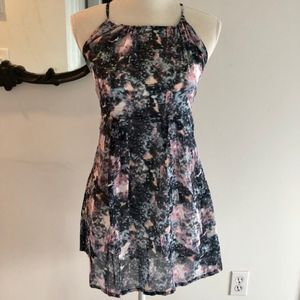 Insight Mini Dress w/ cosmic pattern